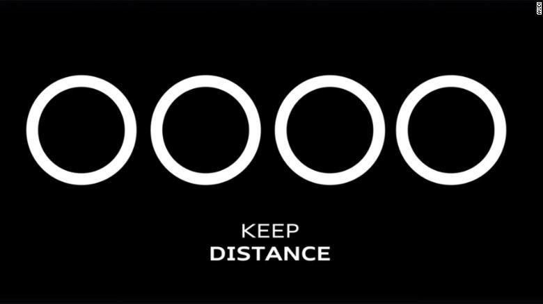 Coca-Cola et d'autres marques créent des logos de «distance sociale»