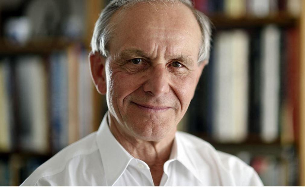 L'écrivain et scientifique français Axel Kahn, photographié en avril 2015.