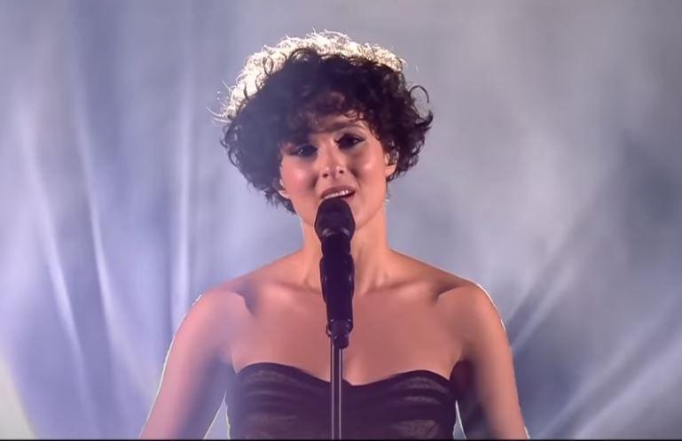La chanteuse Barbara Pravi a terminé à la deuxième place lors de la finale du Concours Eurovision de la Chanson 2021, à Rotterdam, le 22 mai.