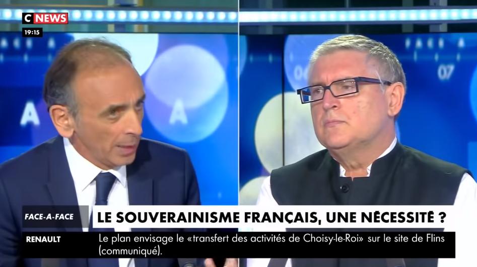 Zemmour face à Onfray : pourfendeurs ET promoteurs de postures idéologiques