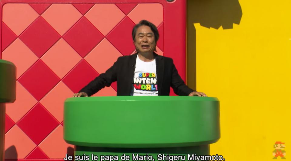 Découvrez le parc d'attraction Super Nintendo World présenté par le père de Mario