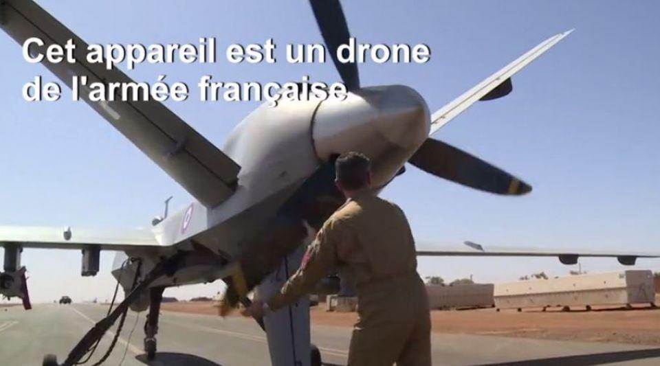 Sahel : l'armée française deploie des drones armés