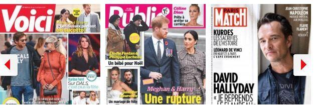 Céline Dion à deux doigts d'arrêter sa carrière, Karine Ferry #DALS, Brad Pitt de rentrer dans ses pantalons ; Ronaldo : les accusations de viols rebondissent ; Harry et Meghan en guerre contre la couronne ; Brooklyn Beckham in love du sosie de sa mère