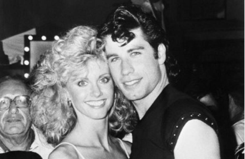 Olivia Newton-John et John Travolta en 1978.
