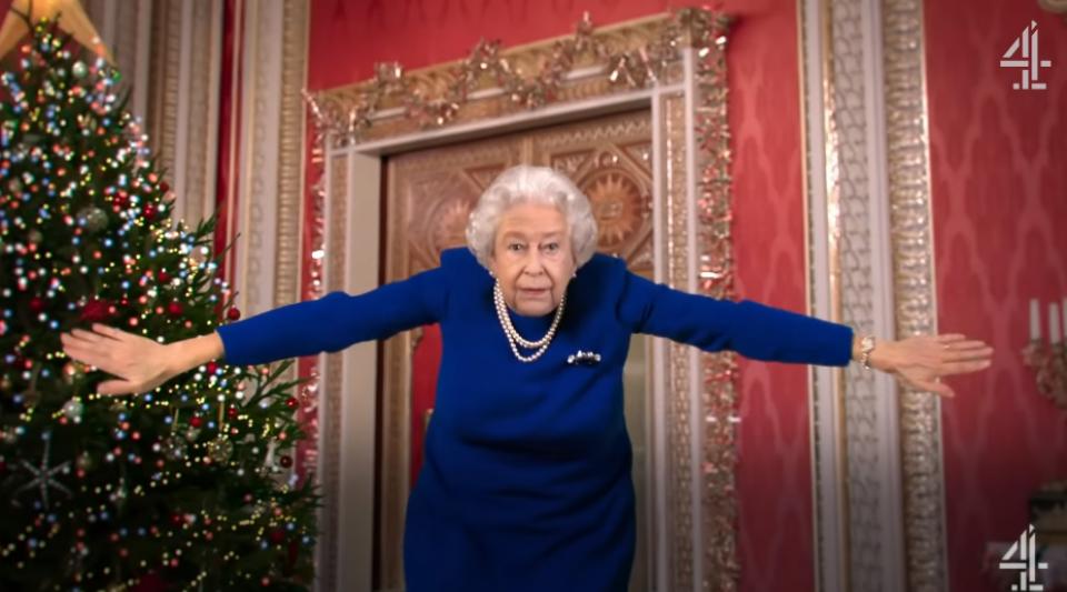 Royaume-Uni : une fausse vidéo de la Reine fait polémique