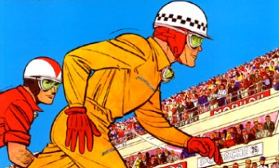 """""""Michel Vaillant, Tome 1 : Le Grand Défi"""" : Jean Graton, une place à part au paradis des pilotes"""