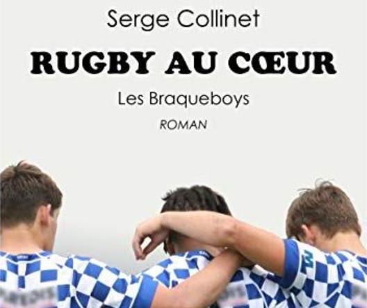 """Couverture de """"Rugby au cœur: Les Braqueboys"""" (ed. Passiflore)"""