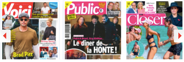 Rihanna a un nouveau lover rappeur cogneur; Pas con(finé)s : Patrick Bruel & Ary Abittan sont allés à un dîner clandestin, George Clooney a un coiffeur du même genre dans sa vie; Elie Semoun est sûr qu'il n'y a rien entre François Hollande et son ex