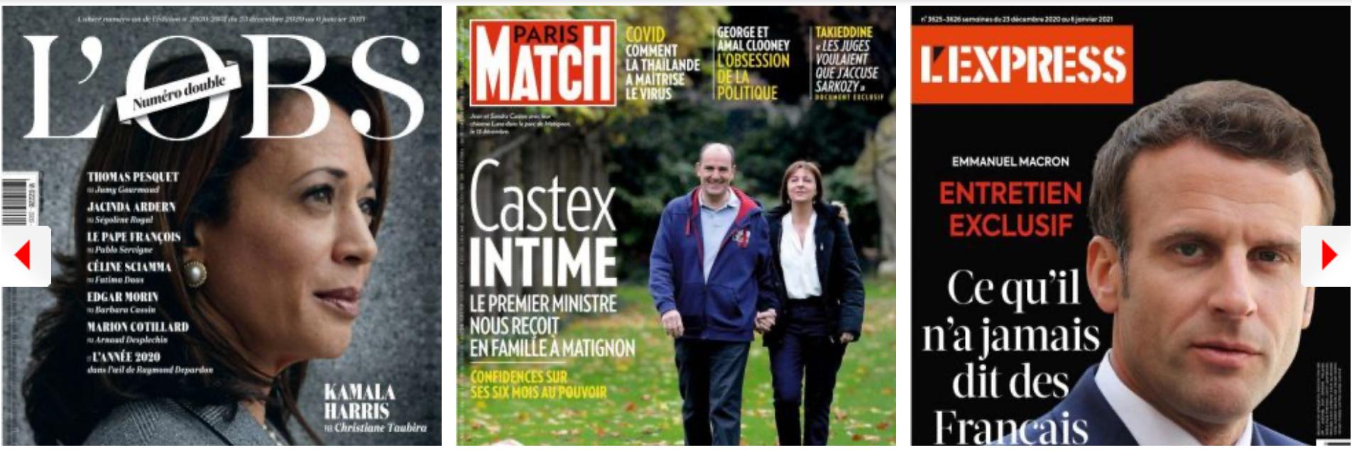 Emmanuel Macron en veut aux élites françaises mondialisées, les ministres (même de droite) à Gérald Darmanin; Pécresse trouve des alliés dans la majorité, Jean Castex pas franchement