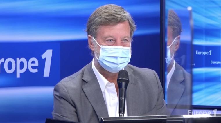 Sébastien Bazin, PDG d'Accor, évoque les difficultés du groupe et la question des licenciements