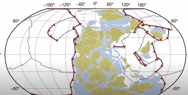 plaques tectoniques évolution continents terre science