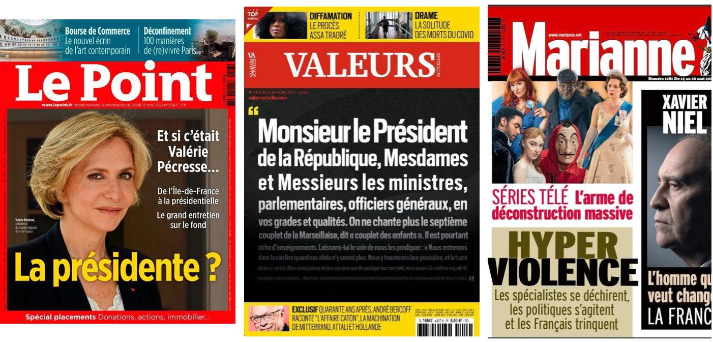 Pécresse monte au créneau sur l'insécurité; Valls et Onfray se reparlent; Solère travaille à la division de LR; Un syndicat étudiant «progressiste» menacé de sanction pour avoir fait régner un climat de terreur à l'IEP de Grenoble