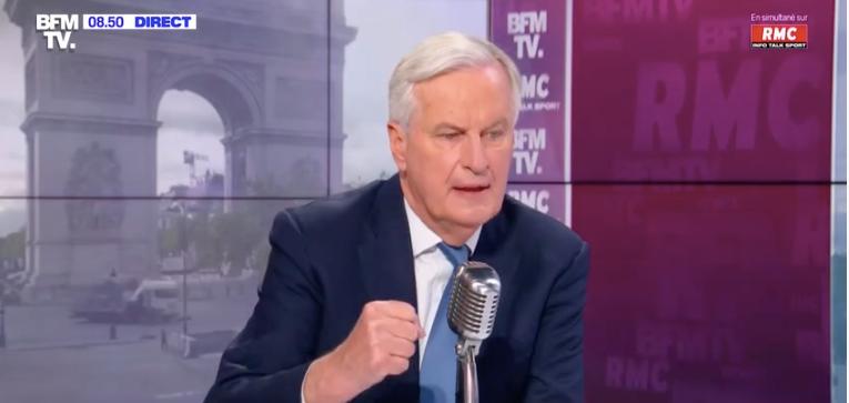 L'ancien négociateur du Brexit, Michel Barnier, était l'invité de Jean-Jacques Bourdin sur BFMTV et RMC en ce mercredi 26 mai.