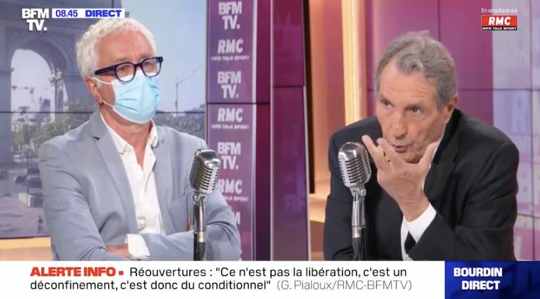 Le Professeur Gilles Pialoux, chef du service des maladies infectieuses à l'hôpital Tenon à Paris, a répondu aux questions de Jean-Jacques Bourdin, ce vendredi 11juin.