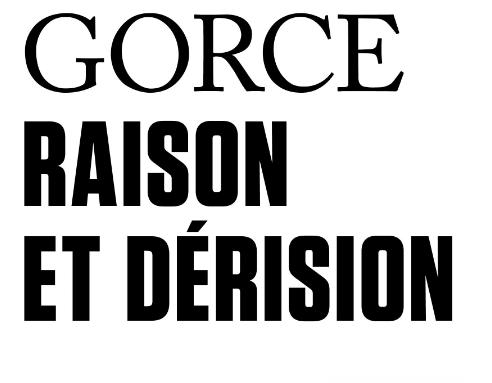 """Xavier Gorce a publié """"Raison et dérision"""" aux éditions Tract Gallimard."""