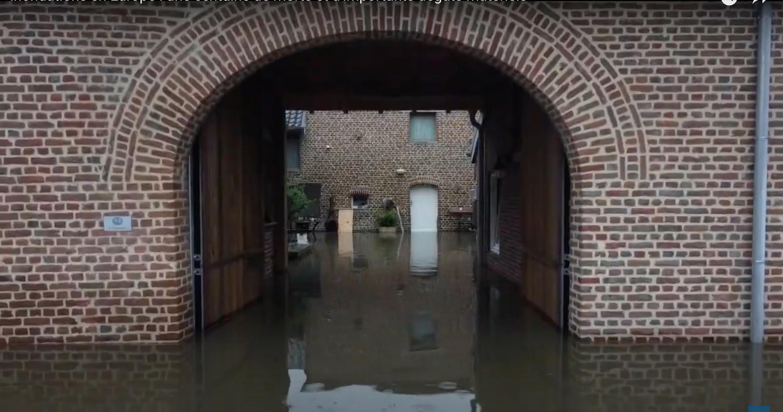 Les pluies diluviennes qui se sont abattues sur l'Europe ont causé plus de cent morts et causés d'importants dégâts matériels