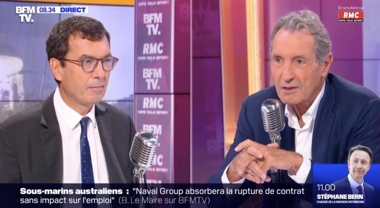 Le PDG de la SNCF, Jean-Pierre Farandou, était l'invité ce vendredi 17 septembre de Jean-Jacques Bourdin sur BFMTV et RMC.