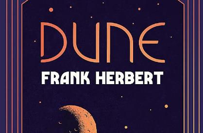 La couverture du livre de Frank Herbert, Dune.
