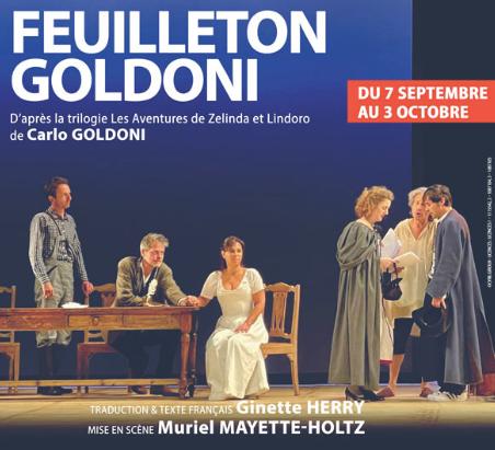 """""""Feuilleton Goldoni"""" d'après les oeuvres de Carlo Goldoni est à découvrir à La Scala, à Paris."""