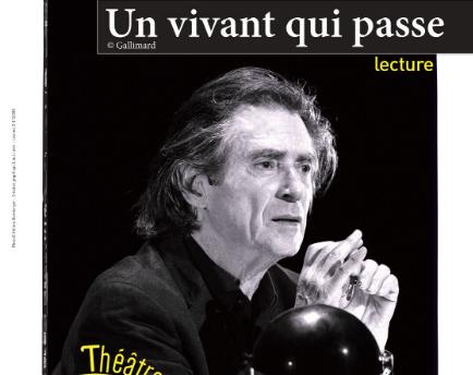 """""""Un vivant qui passe"""" de Claude Lanzmann est à découvrir au Théâtre de l'Atelier."""