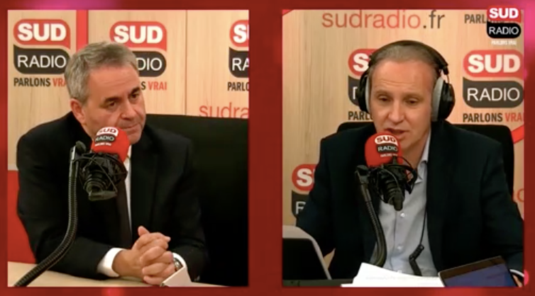 Xavier Bertrand Sud Radio