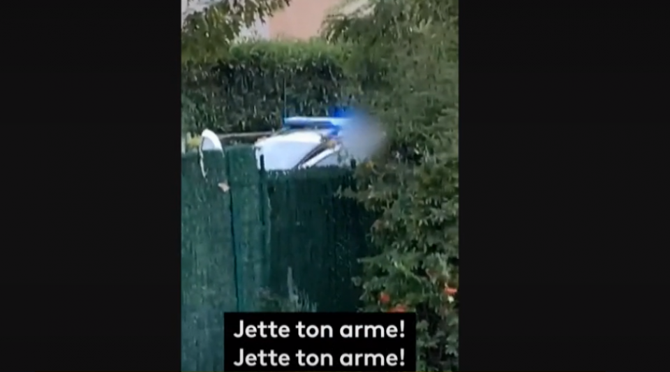 Conflans-Sainte-Honorine : un témoin a filmé le moment où les policiers abattent le terroriste