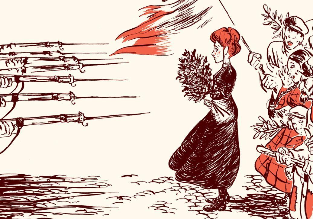 """""""Fourmies la Rouge"""" de Alex W. Inker, éditions Sarbacane"""
