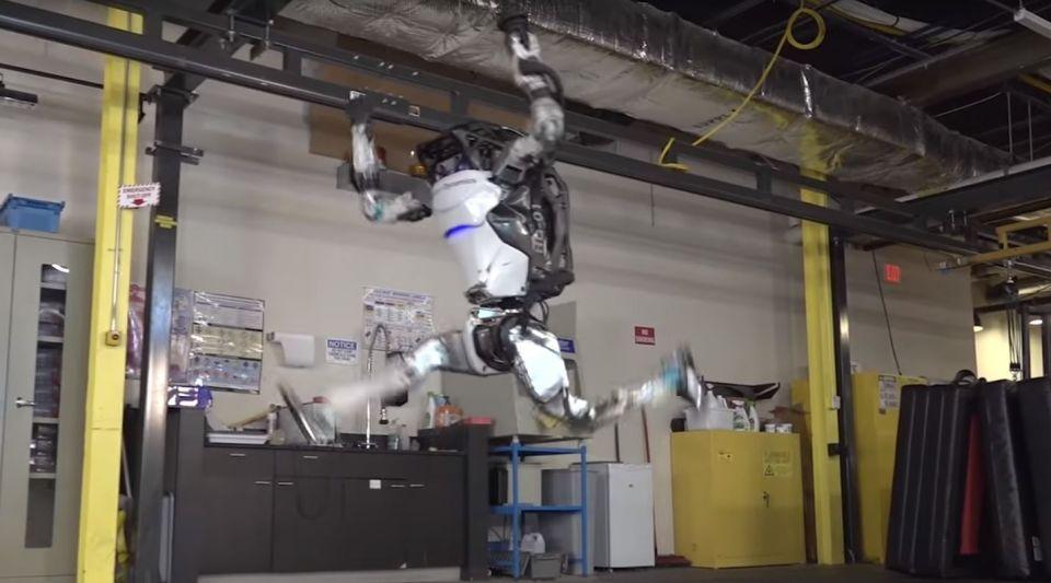 Le robot Atlas de Boston Dynamics est encore plus agile