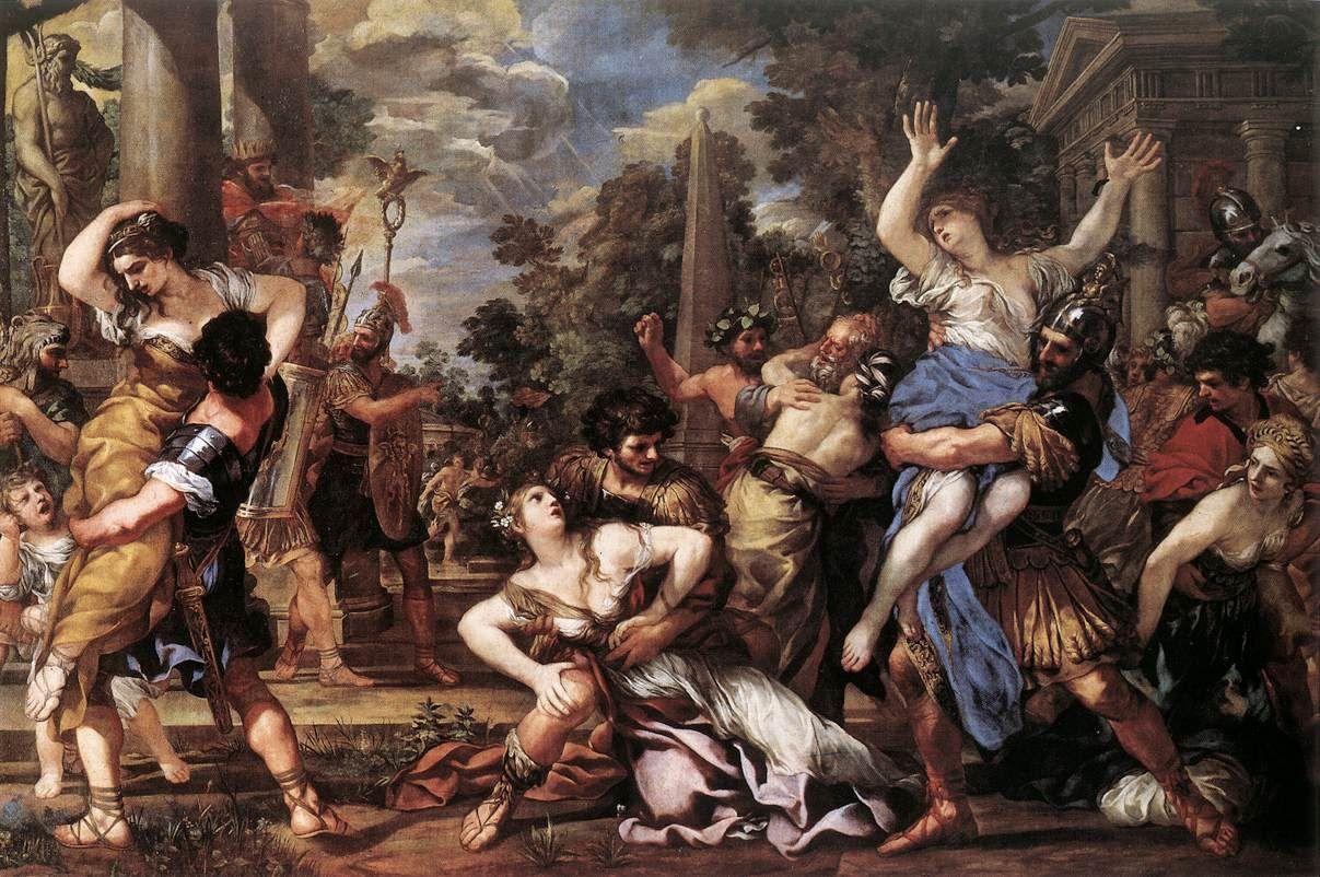 L'enlèvement des Sabines L'Odyssée Ulysée grèce antique mythes