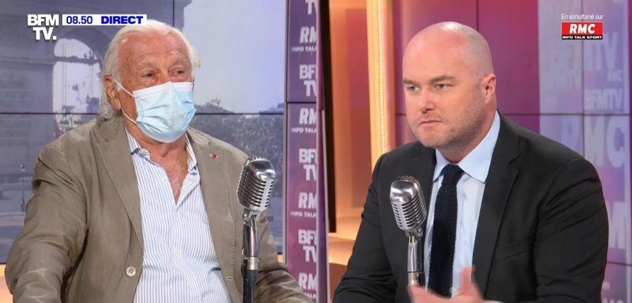 Jean-François Delfraissy, le président du Conseil scientifique, était l'invité de Philippe Corbé sur BFMTV et RMC ce vendredi 23 juillet.