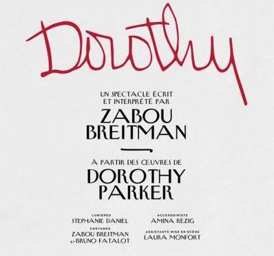 """""""Dorothy"""" de Zabou Bretiman est à découvrir au Théâtre de la Porte Saint-Martin."""