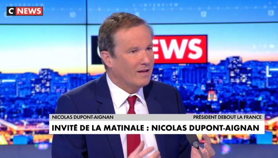 Nicolas Dupont-Aignan : « Il faut cesser d'infantiliser notre pays »