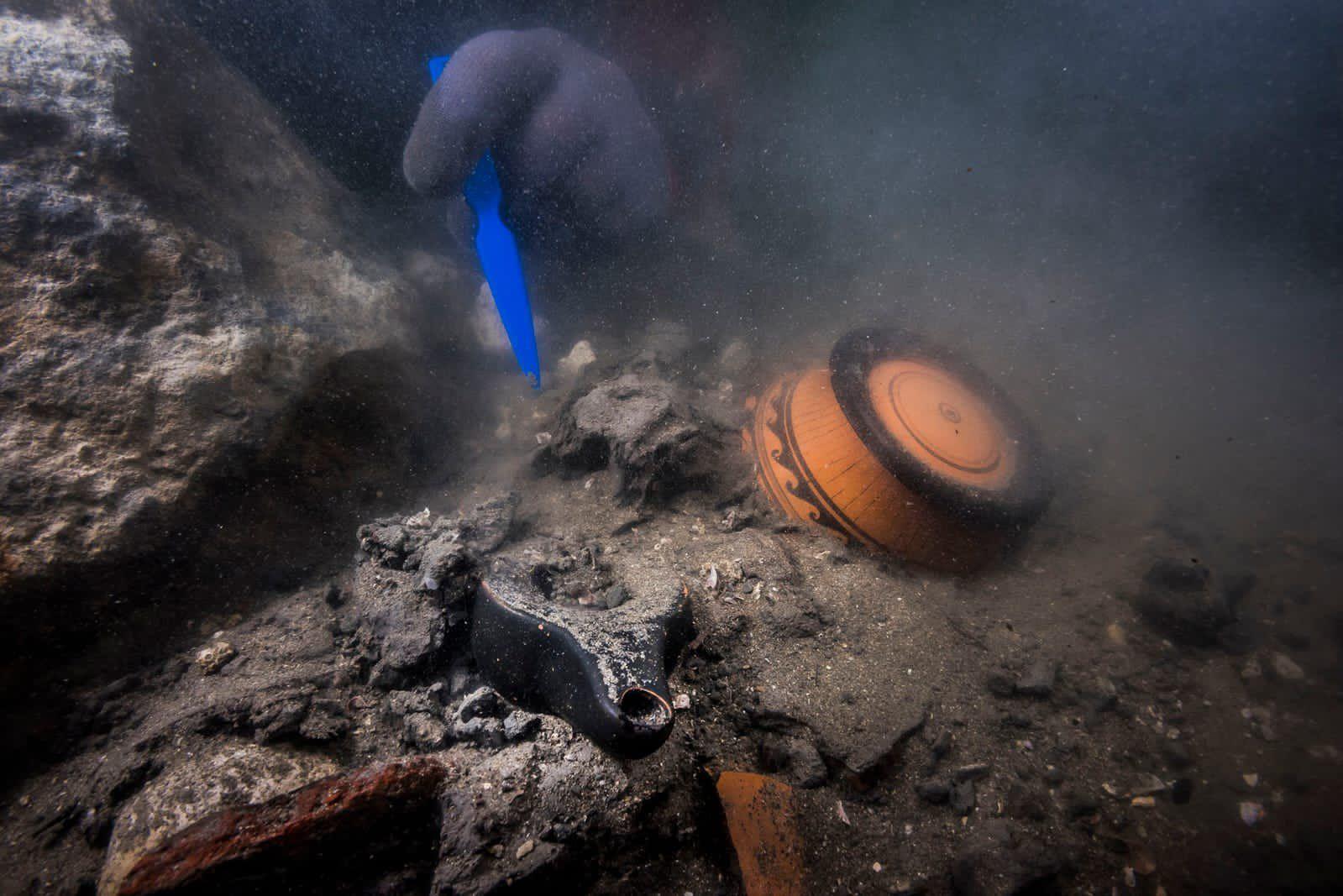 Des vestiges ont été découverts dans la ville engloutie d'Héraklion, en Egypte.