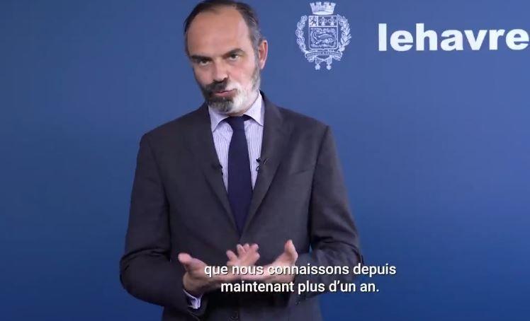 Edouard Philippe a réagi dans une vidéo aux mesures annoncées la veille par Jean Castex.