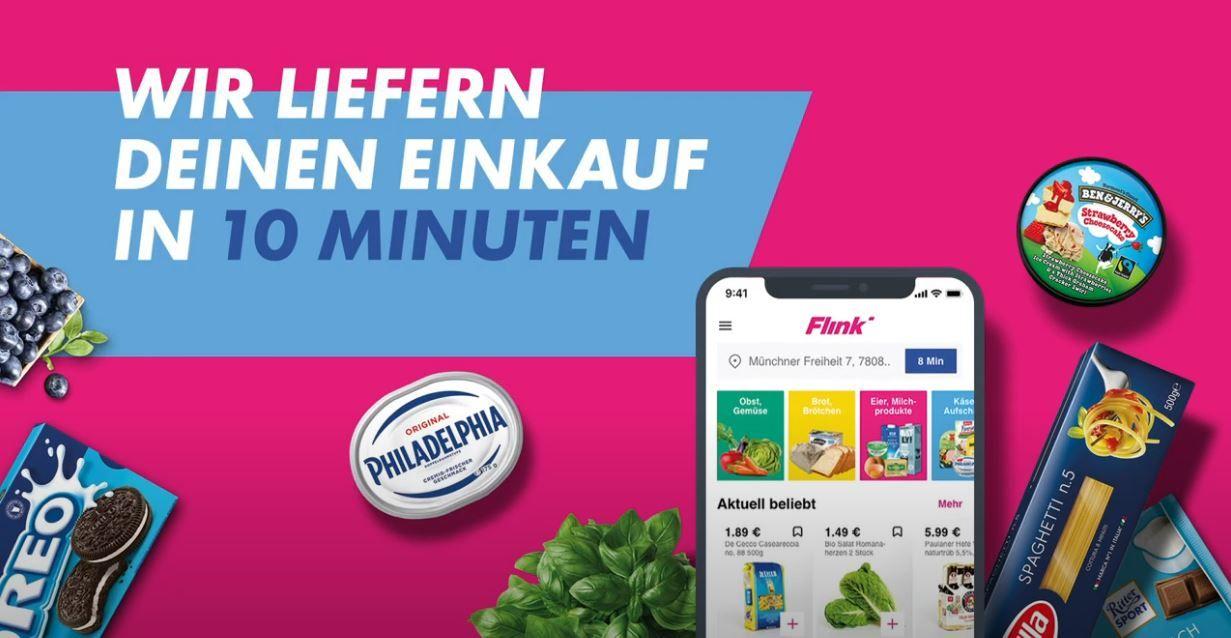 La société allemande Flink est arrivée à Paris pour la livraison de courses en 10 minutes.