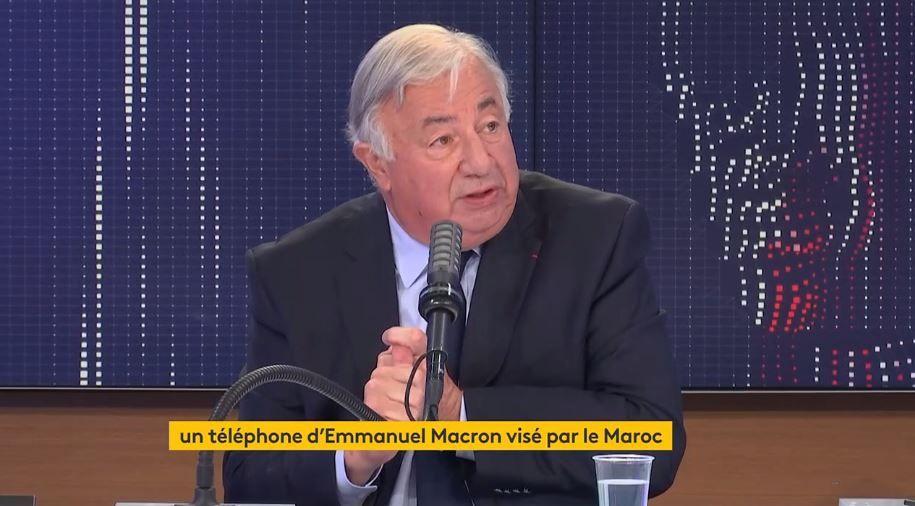 Le président LR du Sénat, Gérard Larcher, était l'invité de la matinale de France Info ce mercredi 21 juillet 2021.