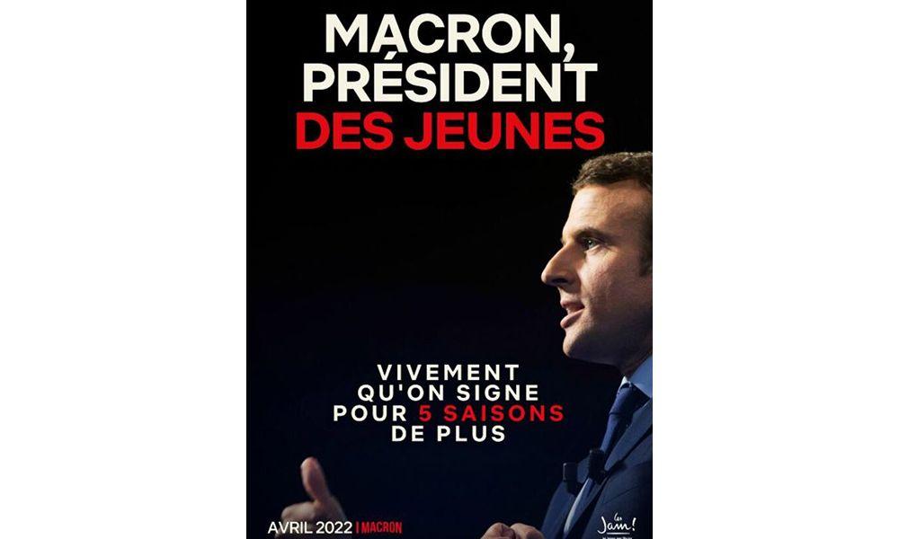 Les Jeunes avec Macron lancent une campagne présidentielle parodiant Netflix