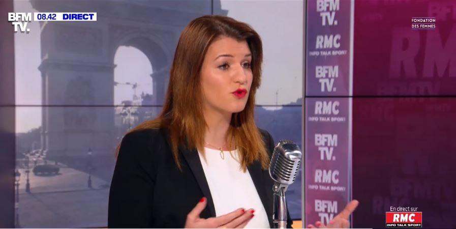Marlène Schiappa était invitée sur RMC ce lundi 8 mars. Elle a évoqué la Journée internationale des droits des femmes/