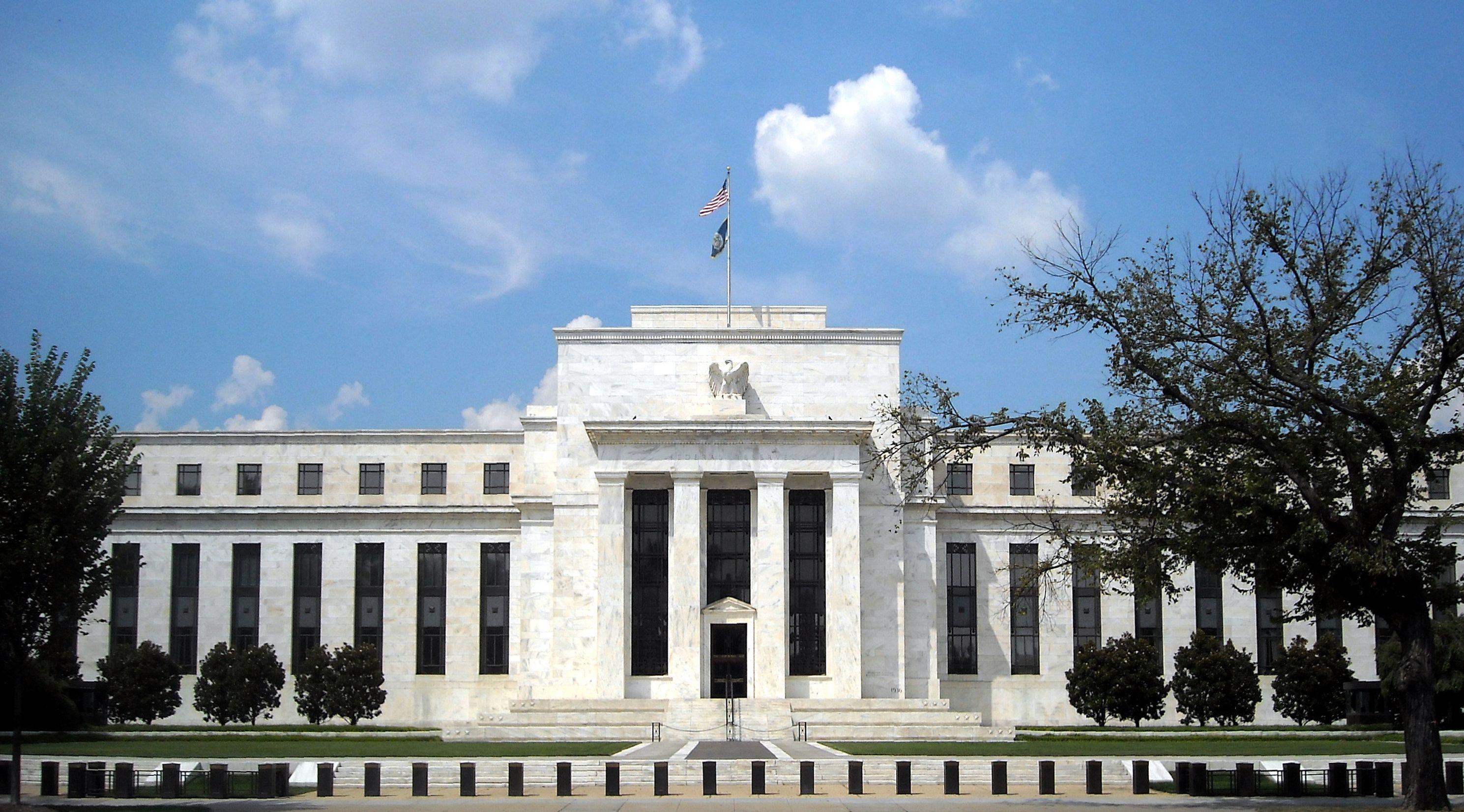 L'Eccles Building de Washington DC est le siège du Conseil des gouverneurs de la Réserve fédérale des États-Unis