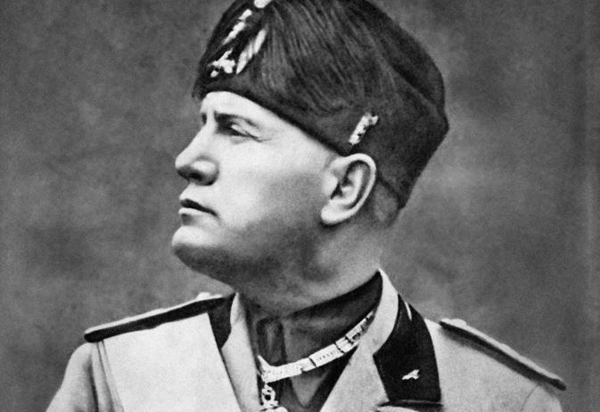 Un portrait non daté du dictateur italien Benito Mussolini.