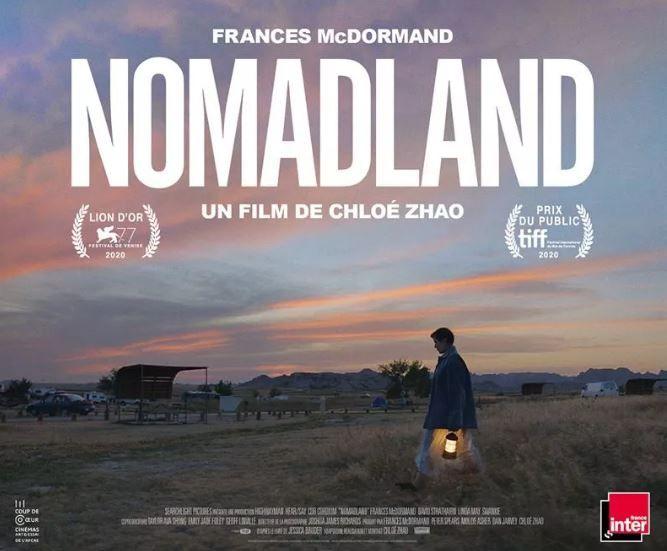 """Le film de Chloé Zhao, """"Nomadland"""", est à retrouver dans les salles de cinéma à partir de ce mercredi 9 juin."""