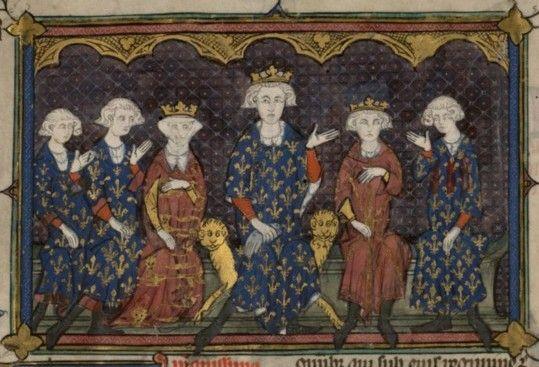 Rois maudits : mais qui étaient vraiment les derniers Capétiens ?