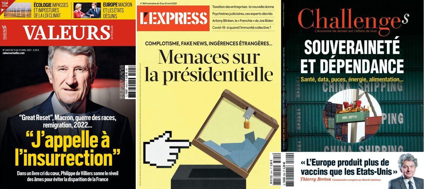 Droite : tous contre Bertrand ? Dracon : le tandem Draghi Macron à l'assaut de l'UE: Russie, Chine, Turquie ces puissances qui veulent polluer la présidentielle française.