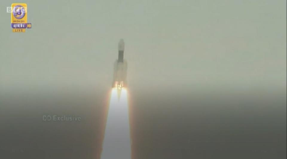 L'Inde envoie une fusée sur la Lune
