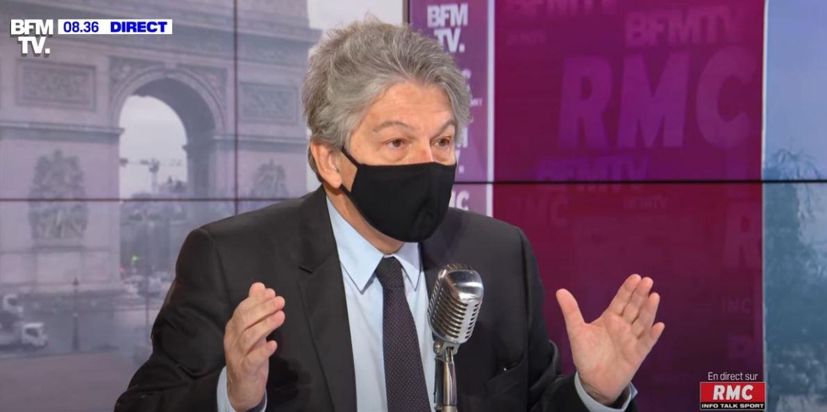 Thierry Breton annulation de la dette Covid-19 pandémie crise économique Europe Union européenne