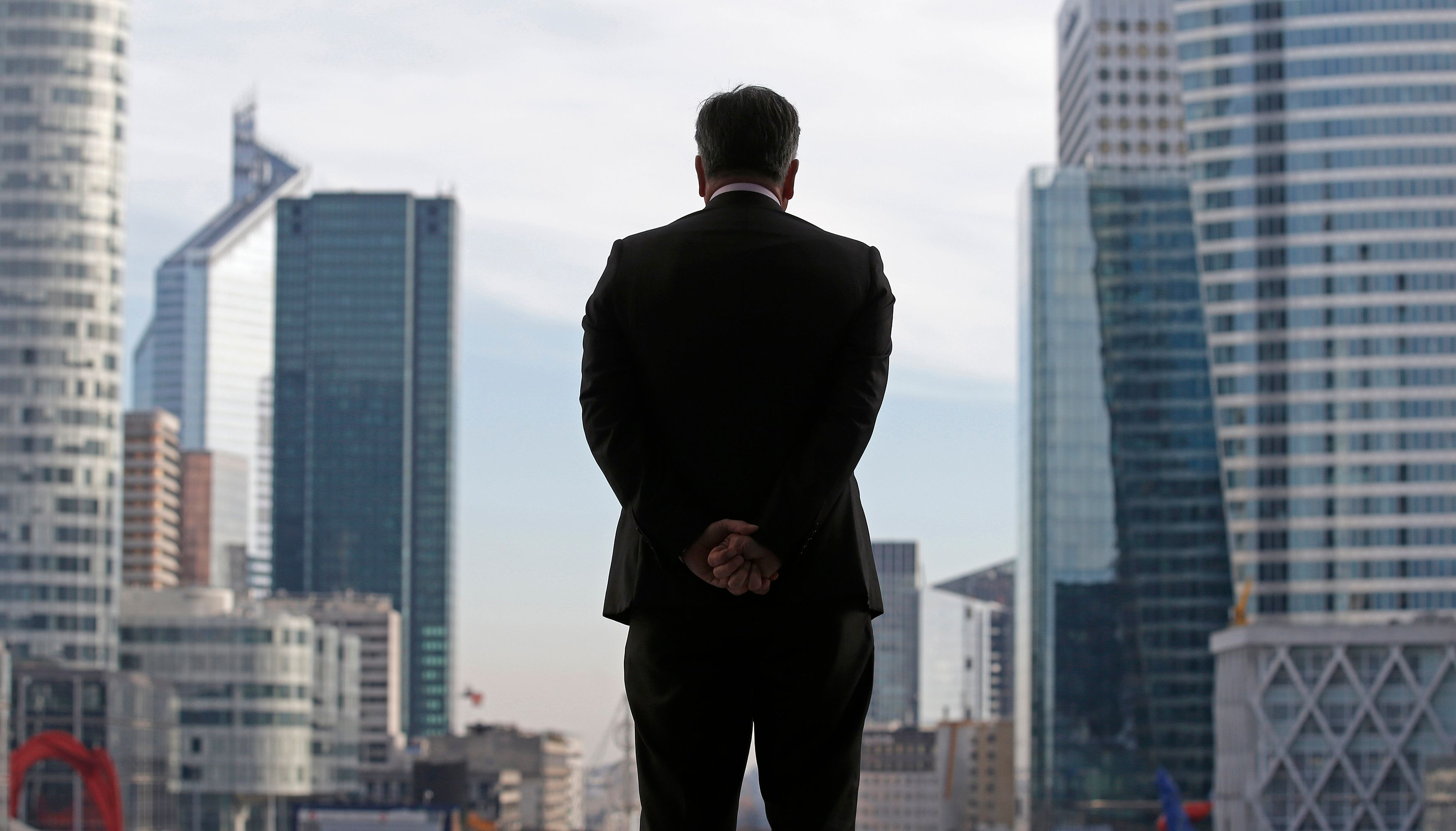 """80% des chefs d'entreprise français se déclarent """"pas confiants"""" pour l'économie française."""