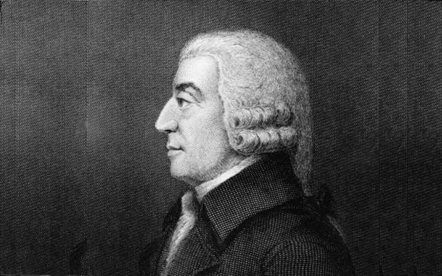 Pourquoi le capitalisme d'aujourd'hui ferait hurler Adam Smith
