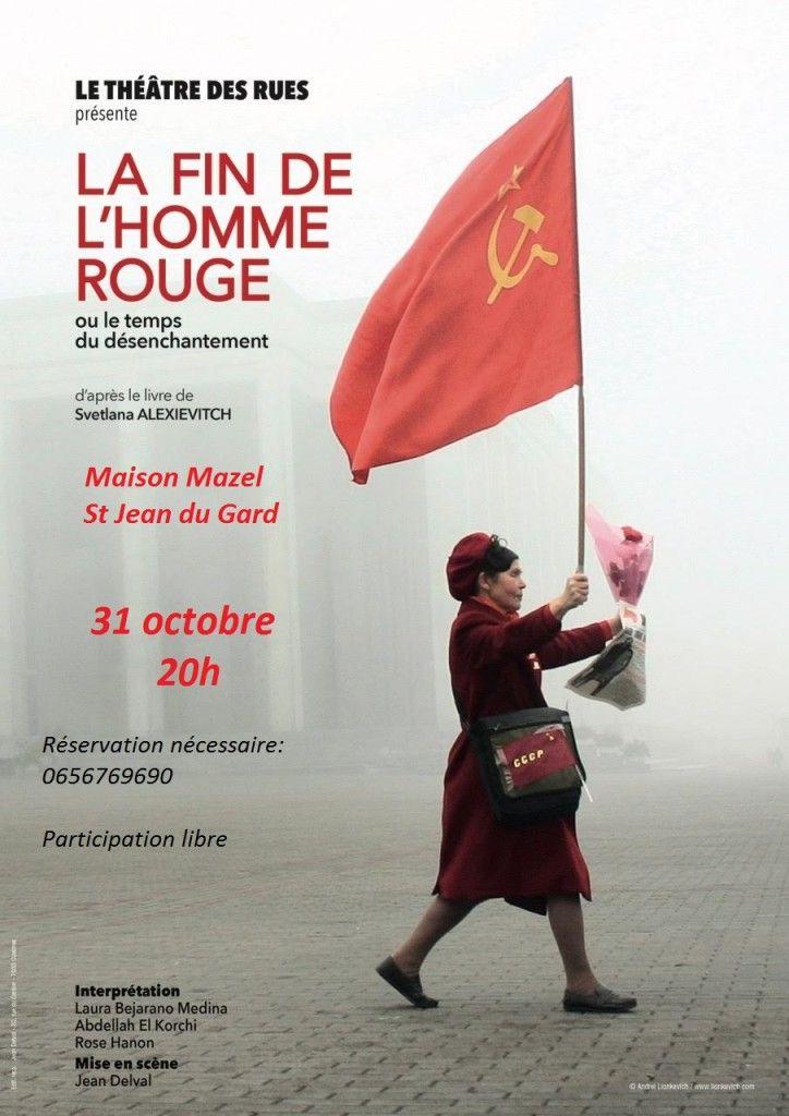 La fin de l'homme rouge : une adaptation qui fait honneur à cette œuvre majeure du prix Nobel de Littérature 2015