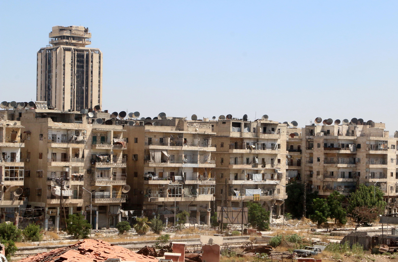 Syrie : l'ONU propose de contrôler les couloirs humanitaires à Alep
