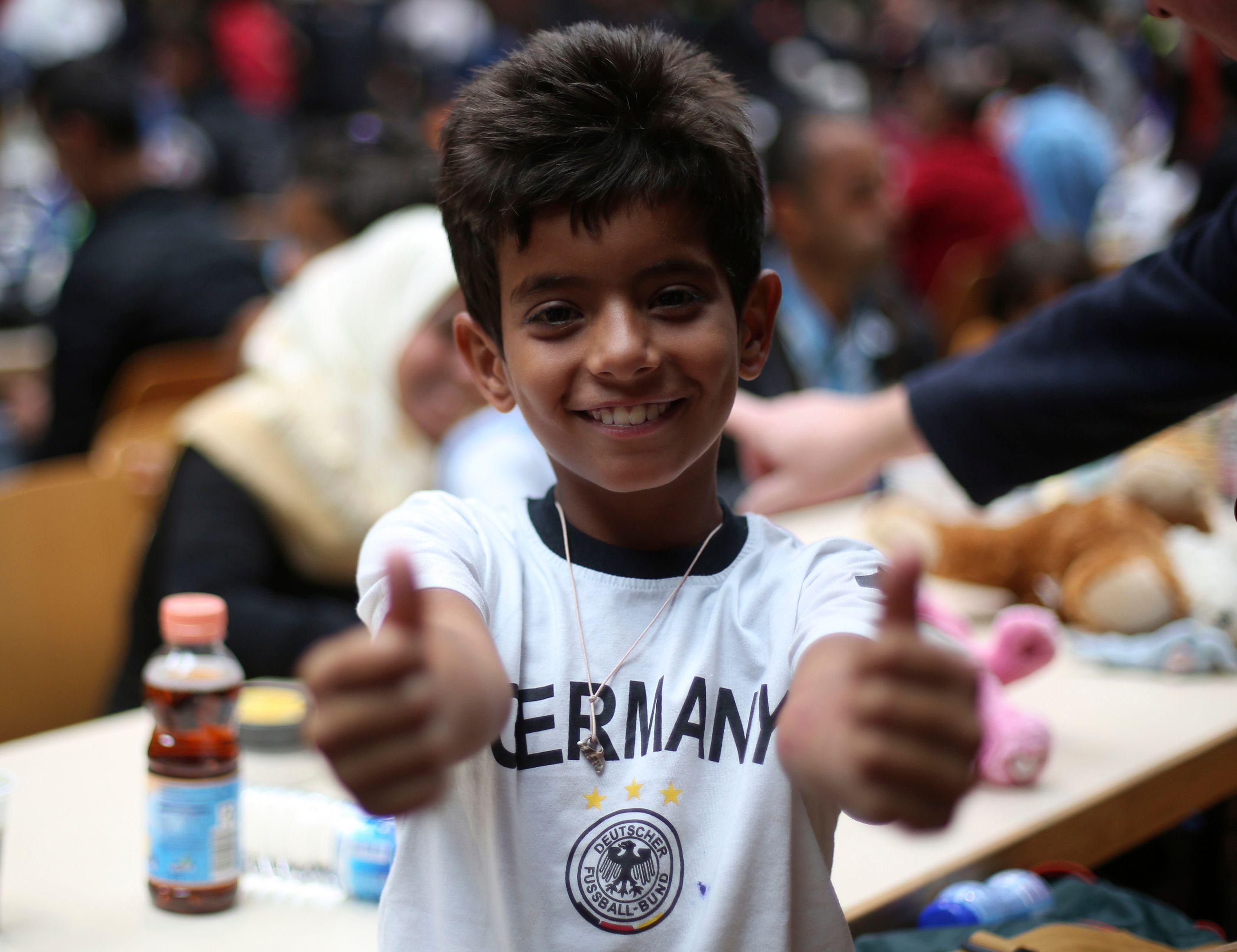 """""""Dans l'esprit des Allemands, la question des réfugiés se traite différemment de la question de l'immigration."""""""